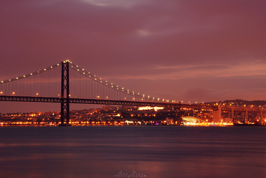 Lisbon by Night by Ana-D