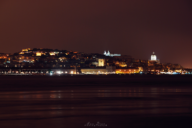 Lisbon by the River by Ana-D