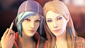 Life Is Strange - Chloe and Rachel by ICYCROFT