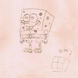 How to draw Spongebob by BrunovicArt