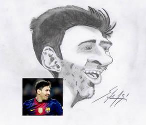 Messi by BrunovicArt