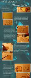 Worbla Belt Buckle Tutorial by DragonLadyCels