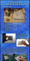 Glass Etching Tutorial by DragonLadyCels