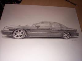 Impala SS by SketchesByChris