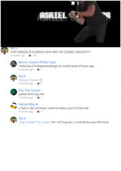Youtube comments... by googleman911