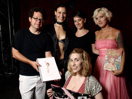 Dr Sketchy's Crew 081609 by RayWendy