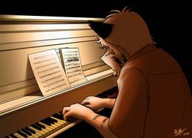 Steve is a musician by brownkuma