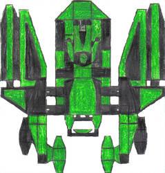 custom Sci-fi style vehicle by TNGM