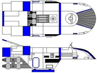 B-7 light freighter by TNGM