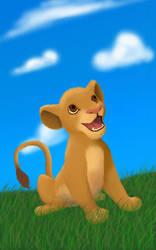 Scylla's Simba :D by dragongirl76