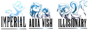 Gifting is Magic-Imperial Aquawish and Illusionary by Amura-Of-Jupiter
