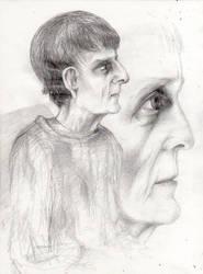portrait of a woman by terezarsm