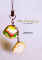 Sandwich Charm by monpuchikissa