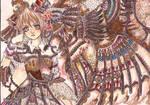 Laverinne:warrior dream_2 by ladybluematrix