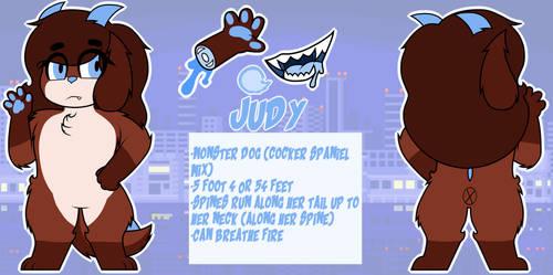 Judy Reference sheet by PANA-SAMA