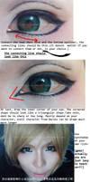 Eye's make up tutorial Part 3 by YukiChristy