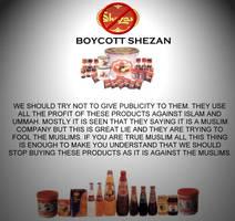 Boycott Against shezan by zeshanadeel