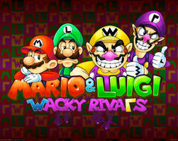 Mario and Luigi: Wacky Rivals by Kopejo