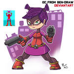 OC from Sen-Draw by PumkiMask