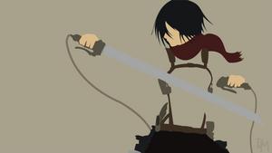 Shingeki No Kyojin (AoT) - Mikasa Ackerman by DisasterMastr