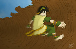 Toph's New Outfit [REMAKE] by Abi-Chan14