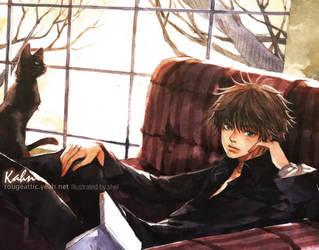 BLACK CAT II by shel-yang