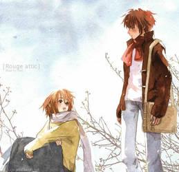 love in winter by shel-yang