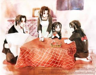 Uchiha family by shel-yang