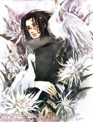 CHIDORI - sasuke V by shel-yang