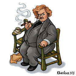 G. K. Chesterton by Ch4r