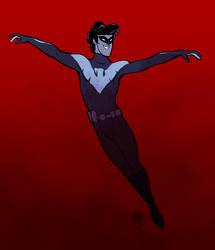 Nightwing by rollingrabbit