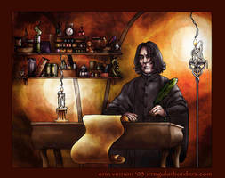 Snape coloured by vernlicious