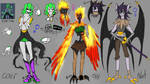 Inspired undertale ocs :added nat: by AK-47x
