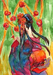 Geisha by ayafeesh