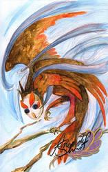 Owl by ayafeesh