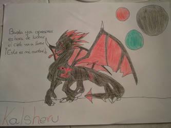Kalsheru a color by SoulTheDevil