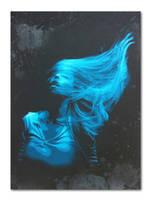 'Inertia Creeps' - Electric Blue edition by snikstencilstuff