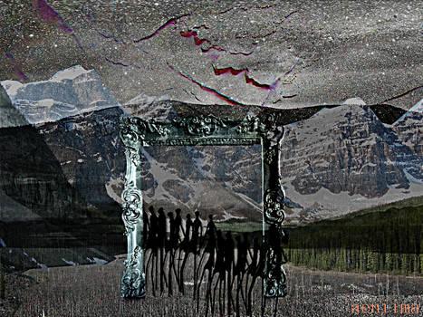 surrealistic countryside by aeniima