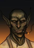 Torch Potrait by OnHolyServiceBound