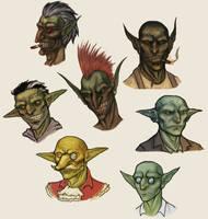 Goblins by OnHolyServiceBound