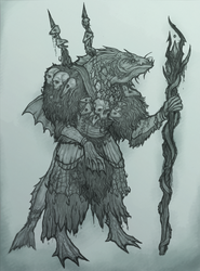 Trow Warlock - On The Shoulders of Heroes by OnHolyServiceBound