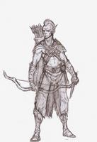 Therazar Sketch by OnHolyServiceBound