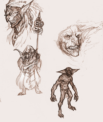 Harvest festival raiders -Sketchdump by OnHolyServiceBound