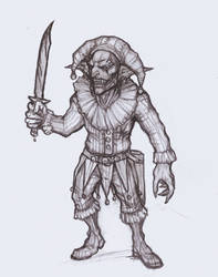 Circus Goblin by OnHolyServiceBound