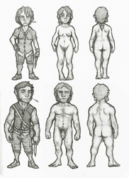 Halfling full reference by OnHolyServiceBound