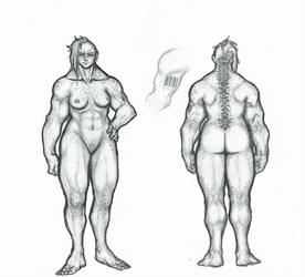 Full Body Reference - Grid by OnHolyServiceBound