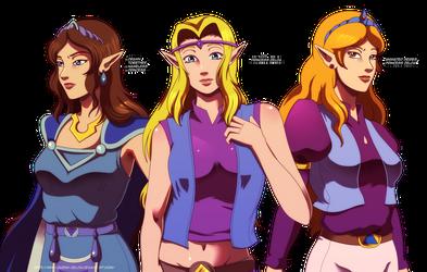 Forbidden princesses by Queen-Zelda
