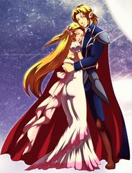 Rulers of Crystal Hyrule by Queen-Zelda