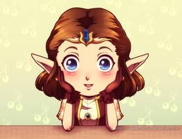 Innocent smile by Queen-Zelda