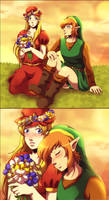 Flower field by Queen-Zelda